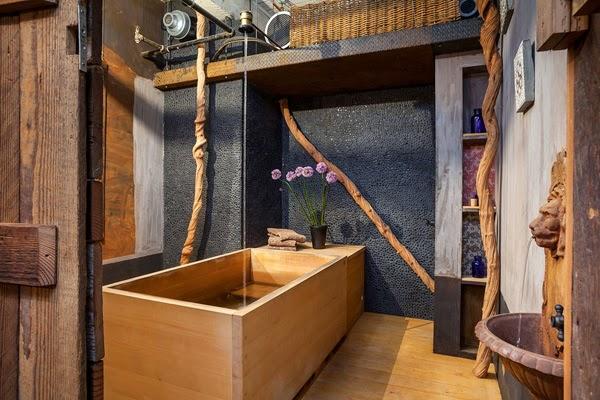 Baños Diseno Rustico:Diseño de baños rústicos – Colores en Casa