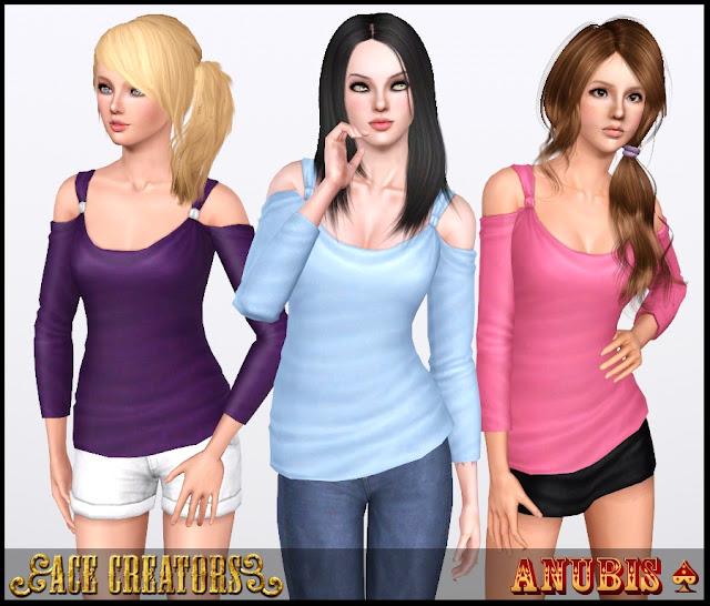 Женская повседневная одежда. TS3ShowtimeCasualTrend_Top_1