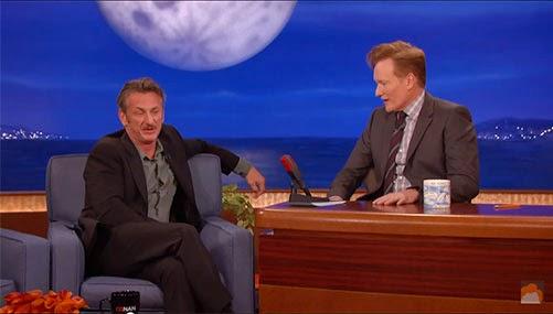 Sean Penn on Conan O'Brien