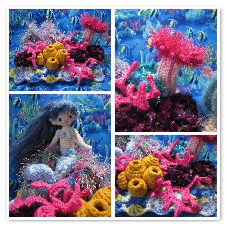 Crochet Coral Reef : By Hook, By Hand: Crochet a Coral Reef