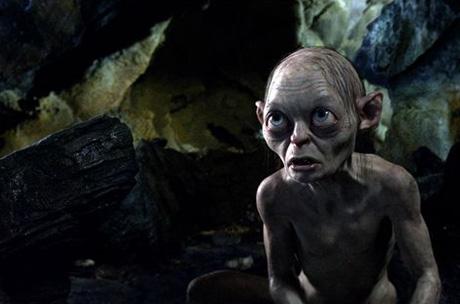"Review de ""El Hobbit:  Un viaje inesperado"" - Gollum (Andy Serkis)"