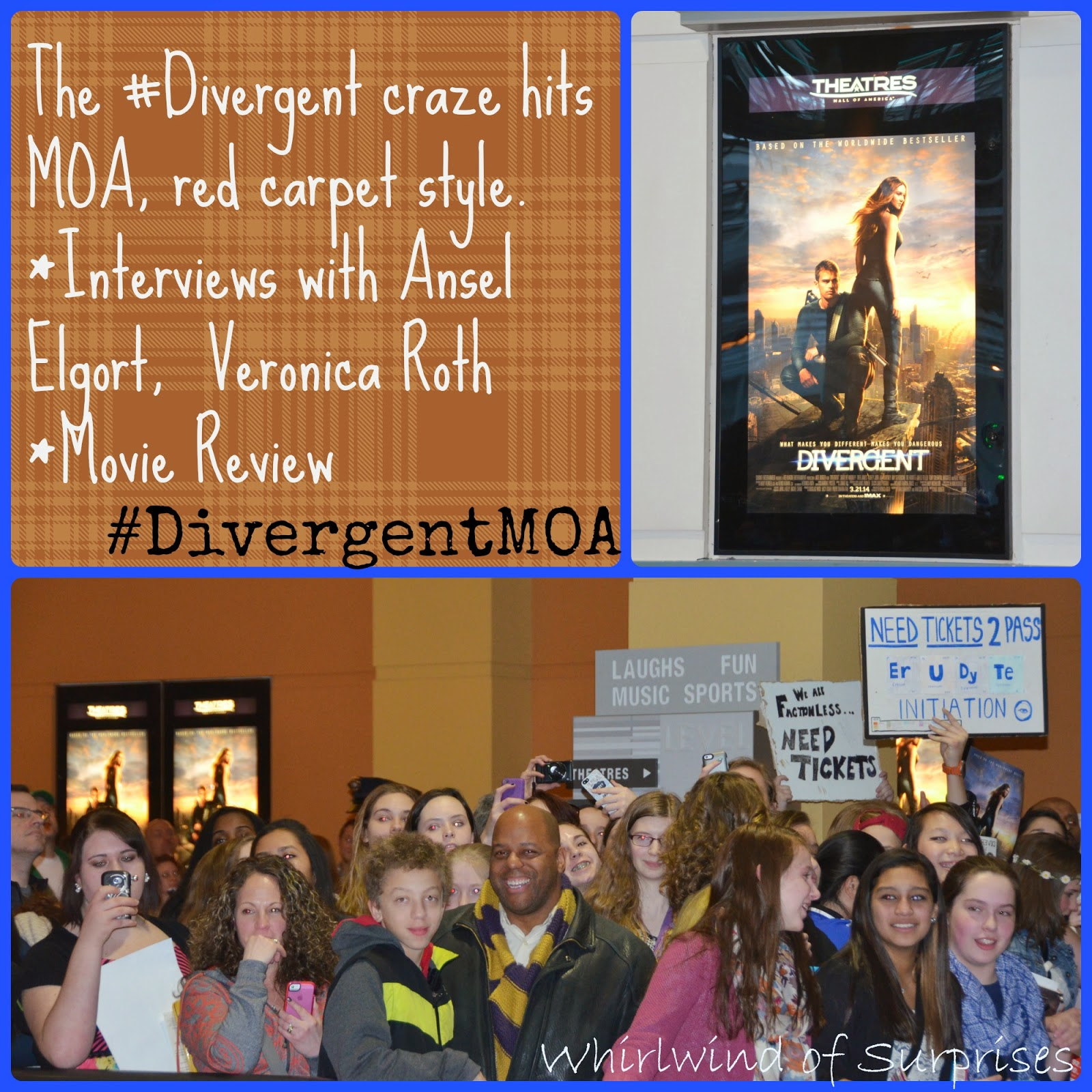 Fans at the #DivergentMOA #Divergent red carpet premiere