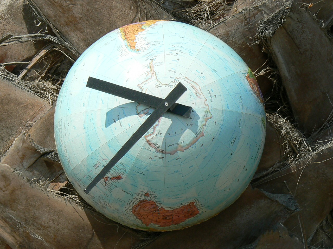 Mad For Mid Century Globe Clocks For A Travel Themed Nursery