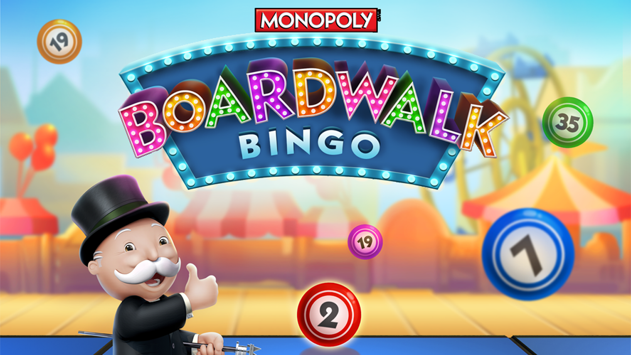 Boardwalk Bingo: MONOPOLY Gameplay IOS / Android