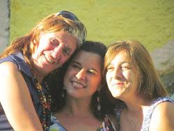 Minhas amigas queridas, Socorro e Mafalda.