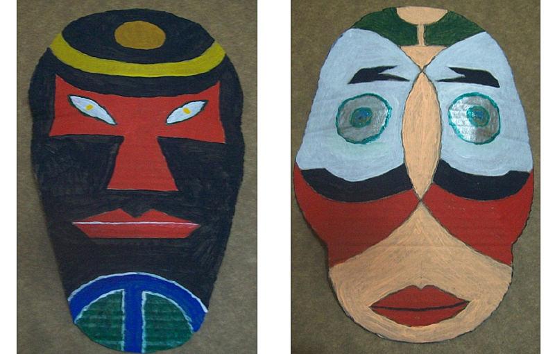 Blog Educativo Da Rossita Mascaras Africanas Para Fazer Com Os
