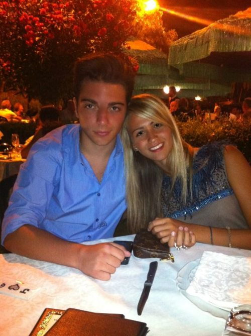 Gianluca Ginoble Girlfriend Gianluca And His Girlfriend