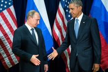Superpowers strive to gain upper hand : Obama and Putin exchange barbs, before discussing how to combat Isis