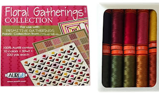 Aurifil Floral Gatherings Thread Set