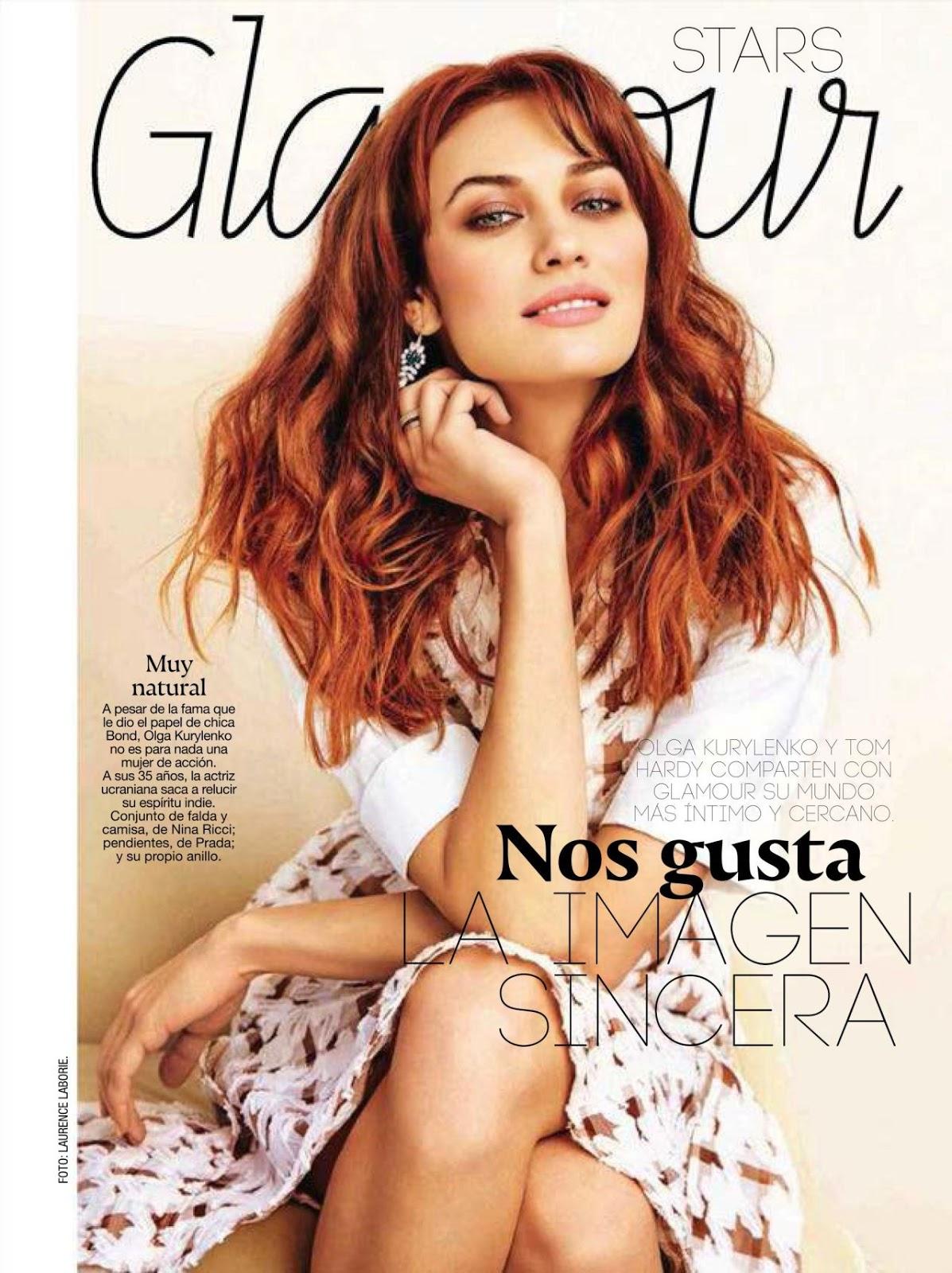 Actress, Fashion Model @ Olga Kurylenko - Glamour Spain, May 2015