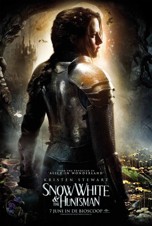 Snow white and the huntsman new posters wallpapers for Blanche neige miroir miroir film