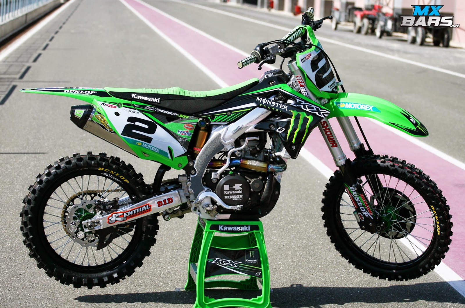 Racing Cafè: Kawasaki KX-450F R.Villopoto Team Monster Energy ...