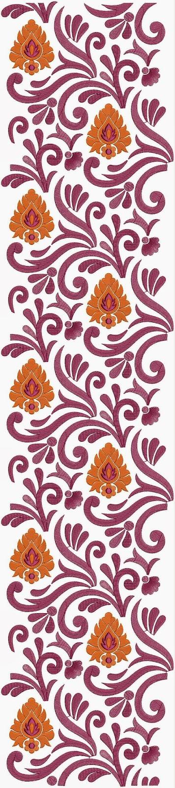 Indian Designs Patterns Latest anarkali designs for: galleryhip.com/indian-designs-patterns.html