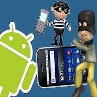 Smartphone Android perdido ou roubado