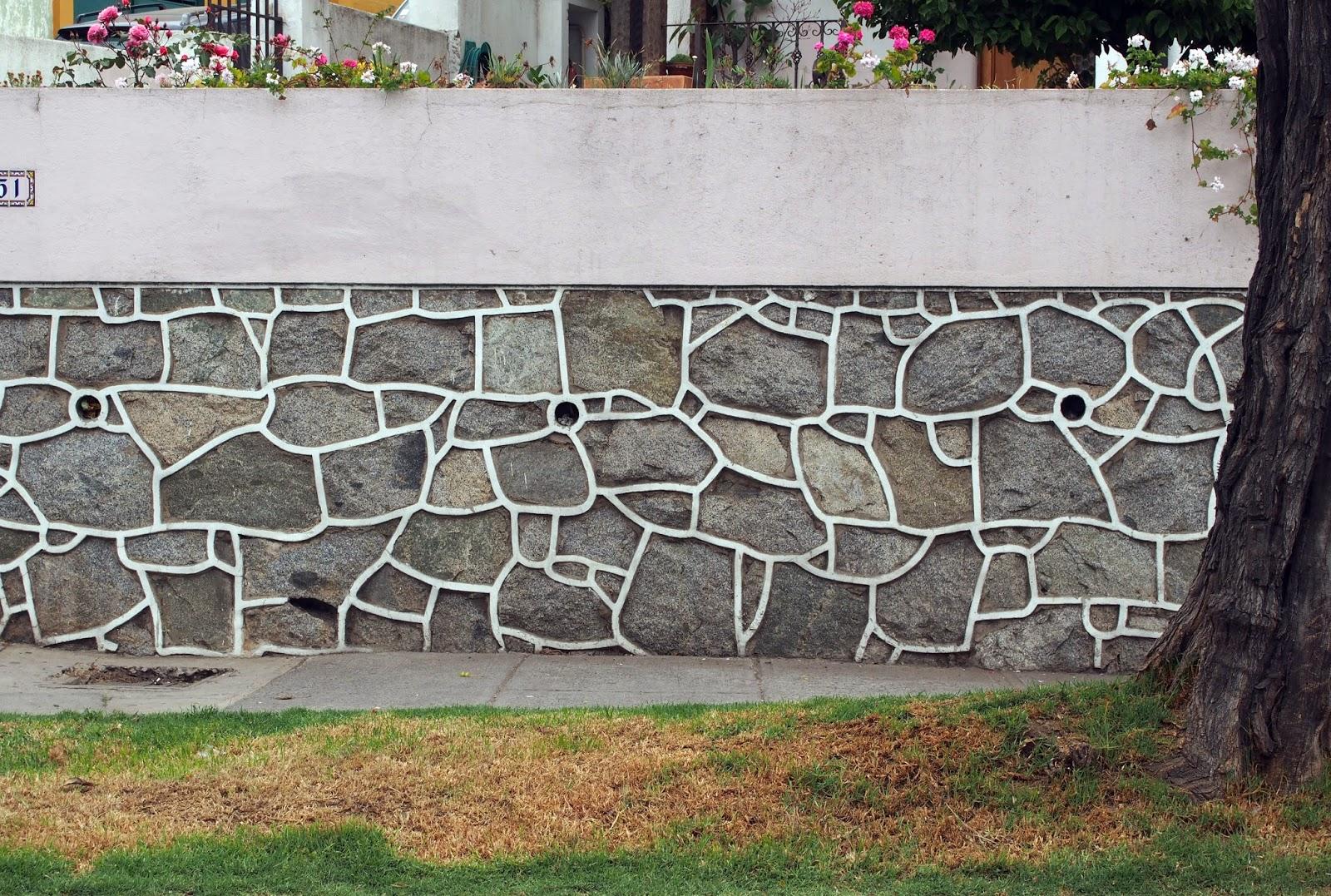 Ventana verde muros de piedra un patrimonio para vi a - Muros de contencion de piedra ...