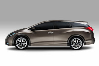 Honda Civic Tourer Concept (2013) Side