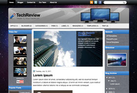 TechReview Blogger Template