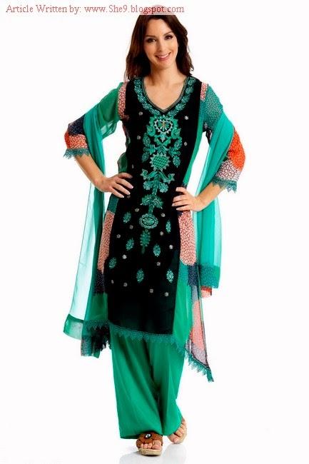 Pakistani fashion she9 dresses