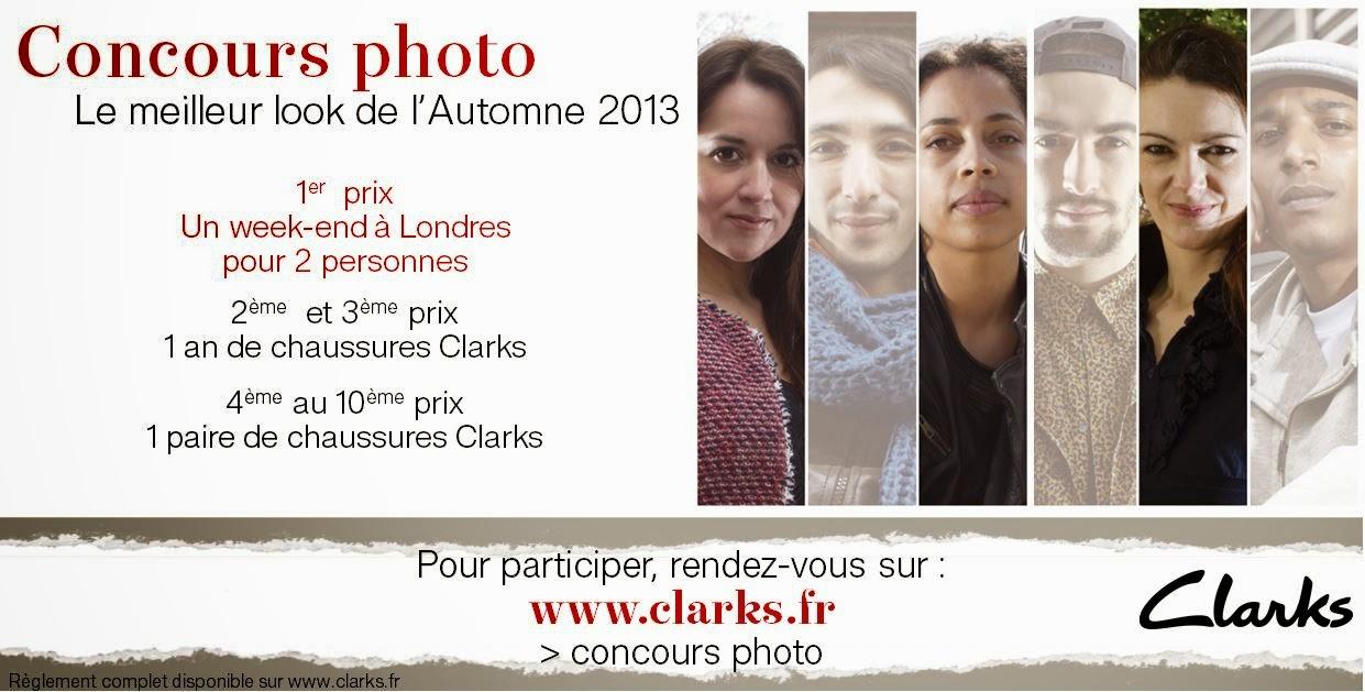 Concours look d'Automne Clarks
