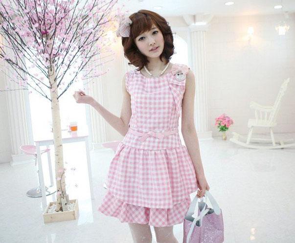 memiliki style korea dan sering dipakai wanita-wanita korea.
