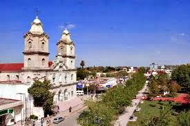 Ciudad de Pilar- Plaza, iglesia Ntra. Sra. del Pilar