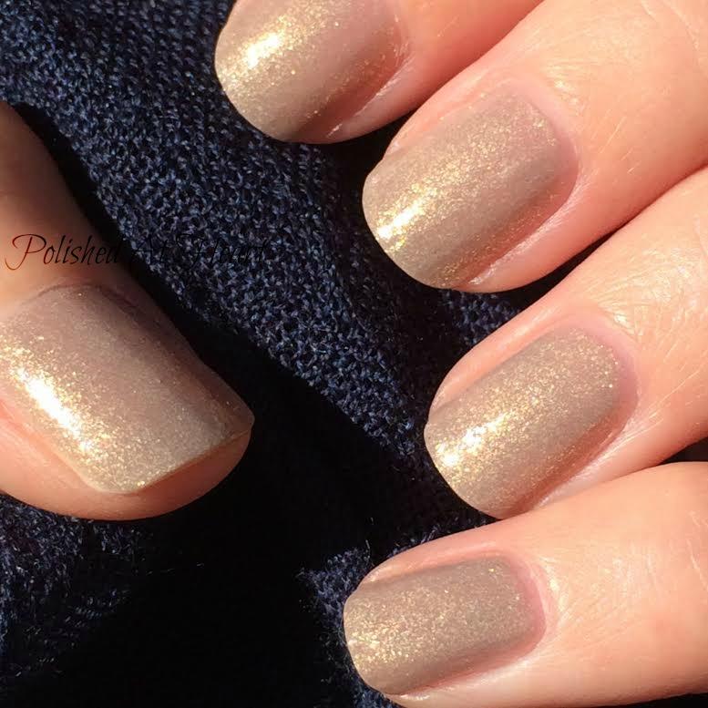 taupe nail polish flakies