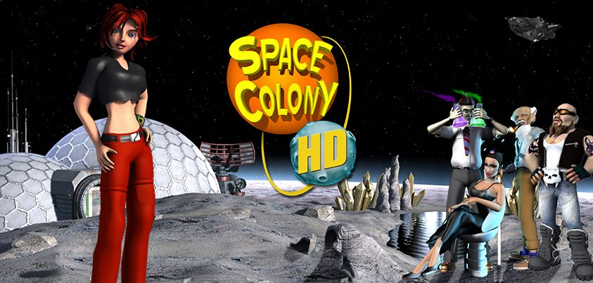 Space Colony strategy from Firefly Studios, creators of the acclaimed