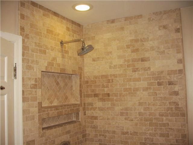 Travertine bathroom ideas bathroom designs for Travertine tile designs