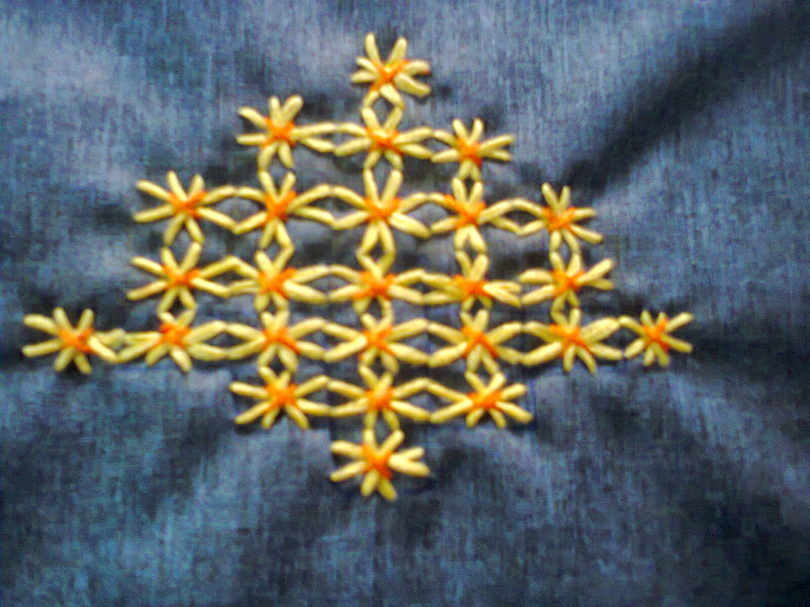 Creative Of Rainy Pachis Hand Embroidery