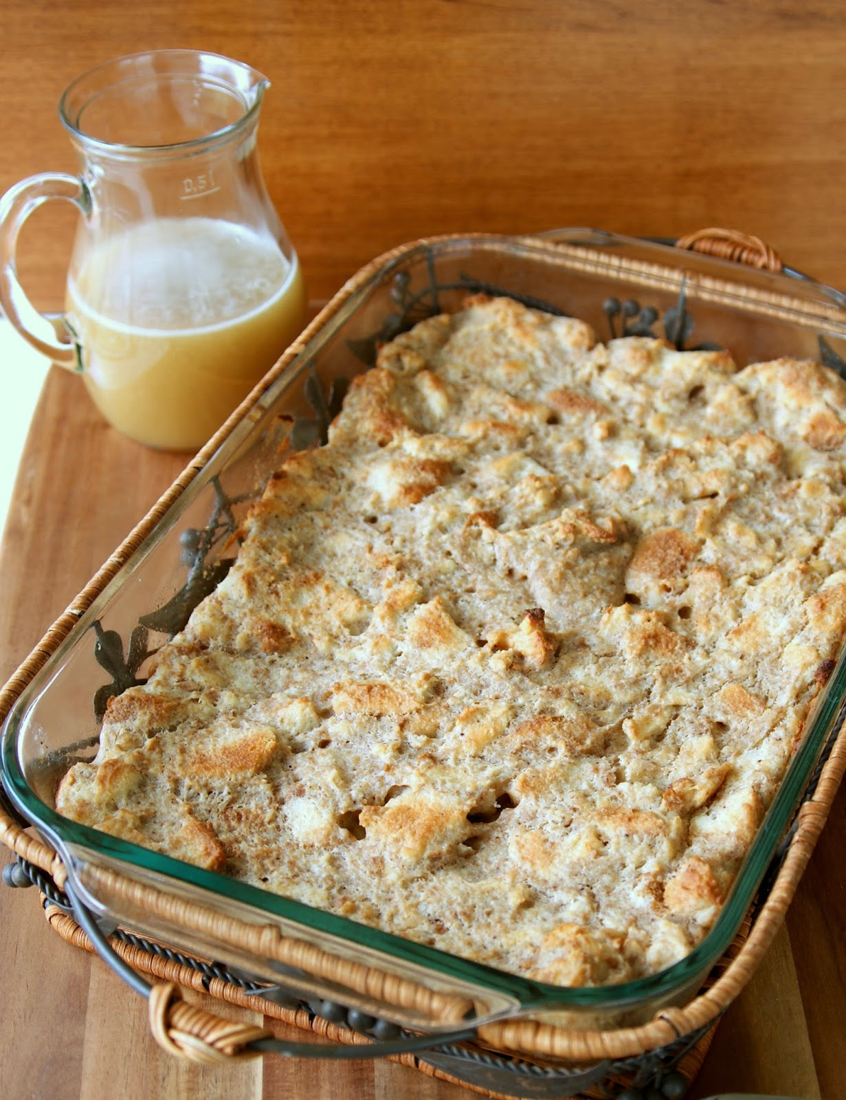 Alice and the Mock Turtle: Old Fashioned Bread Pudding ...