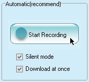 自動ダウンロード開始ボタン