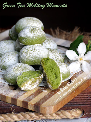 GREEN TEA MELTING MOMENTS