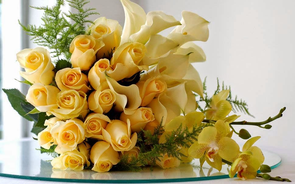 bouquet-yellow-roses-wallpapers