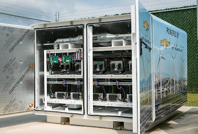 Recycled Chevy Volt Batteries Help Power Facilities