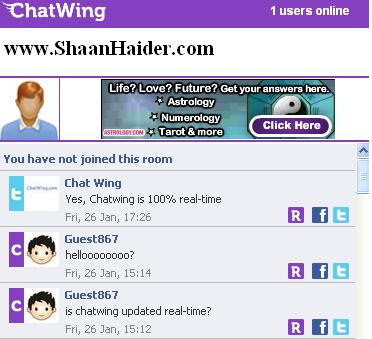 ChatWing widget