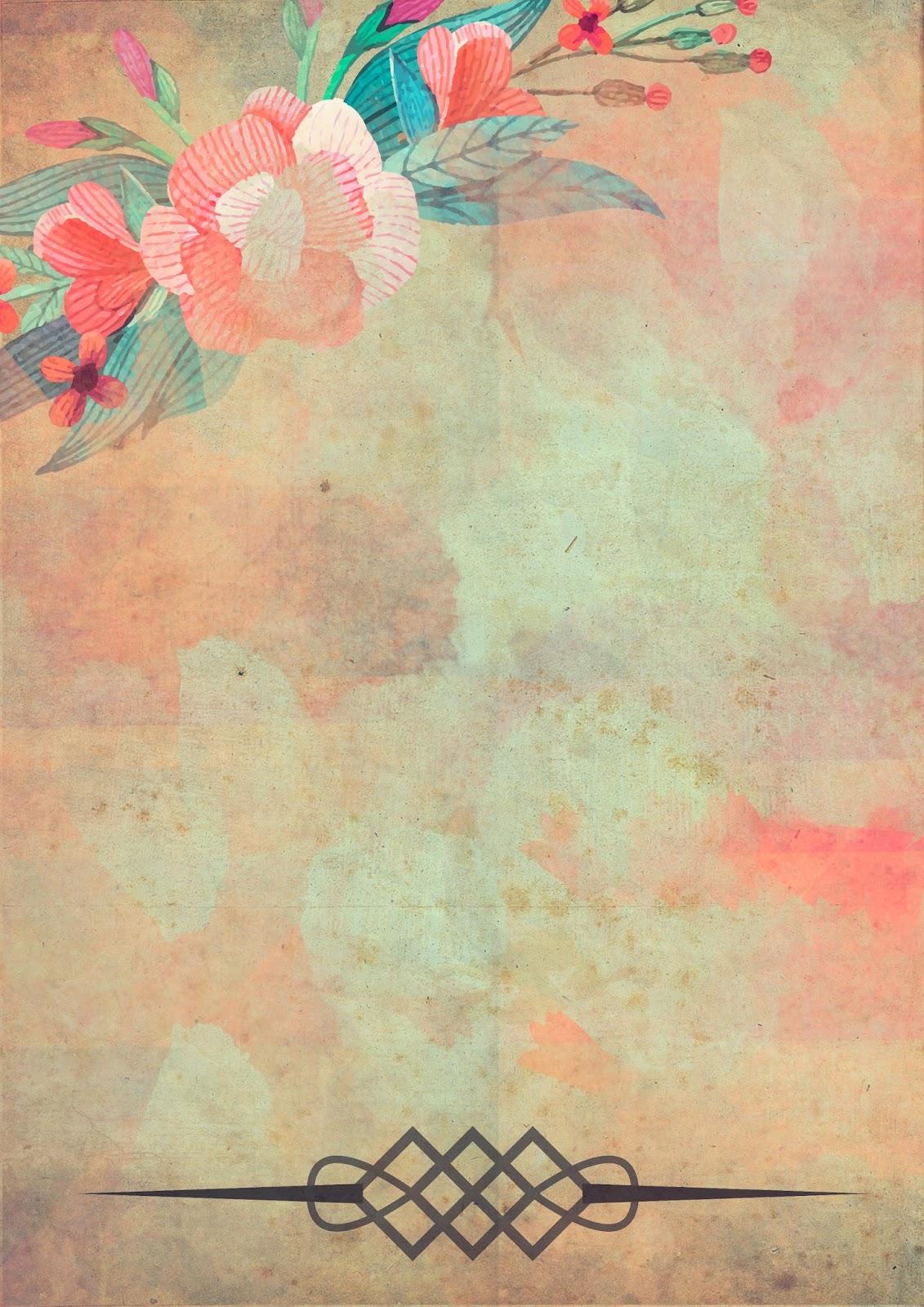 Papeles vintage imprimibles gratis para collage for Papel decorado rosa