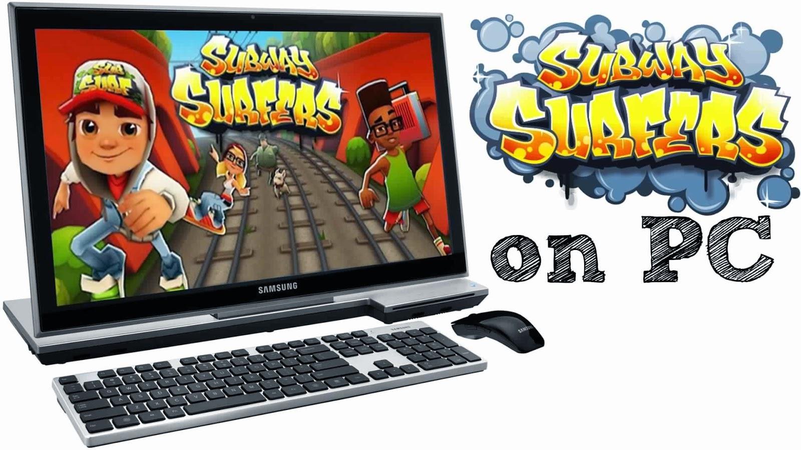 تحميل لعبة Subway Surfers للكمبيوتر مجانا
