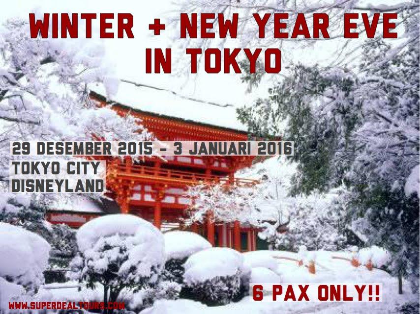 Tokyo 29 Desember 2015 - 3 January 2016