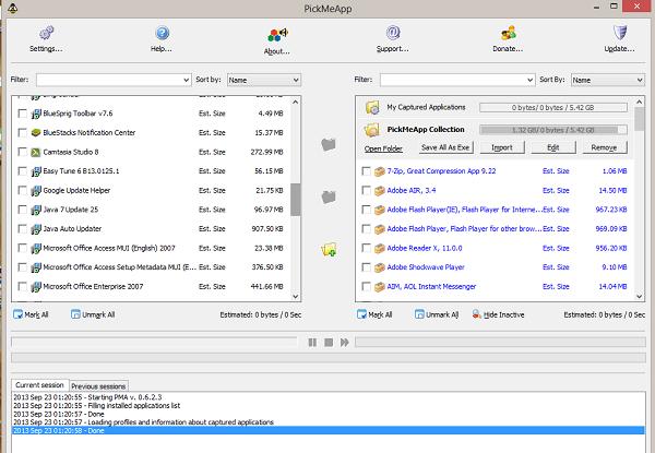 PickMeApp - طريقة نقل البرامج من جهازك الي جهاز اخر بدون إعادة تثبيتها