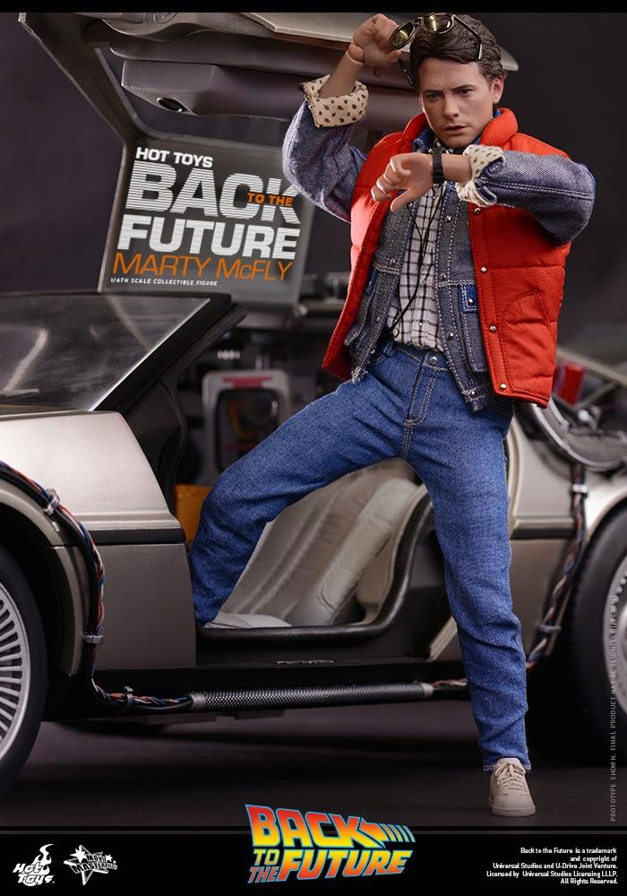 Ritorno al Futuro Hot Toys Marty