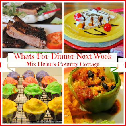 Whats For Dinner Next Week * Week Of 7-23-17