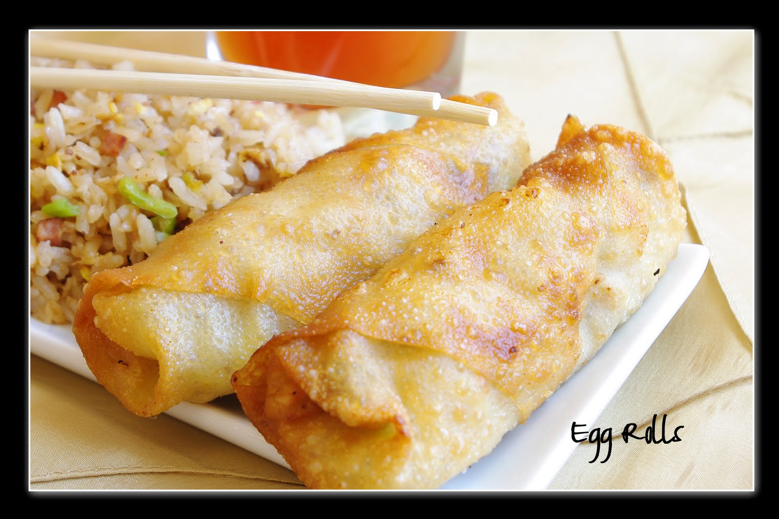 Enormous Egg Rolls Recipe — Dishmaps