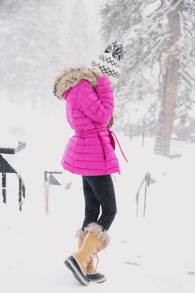 snow outfit inspo - Ralph Lauren coat