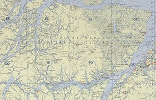 Ilha de Marajó Topographic.