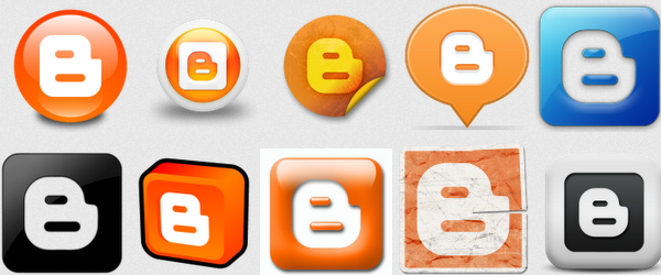 Icon/Gambar Blogger Blogspot