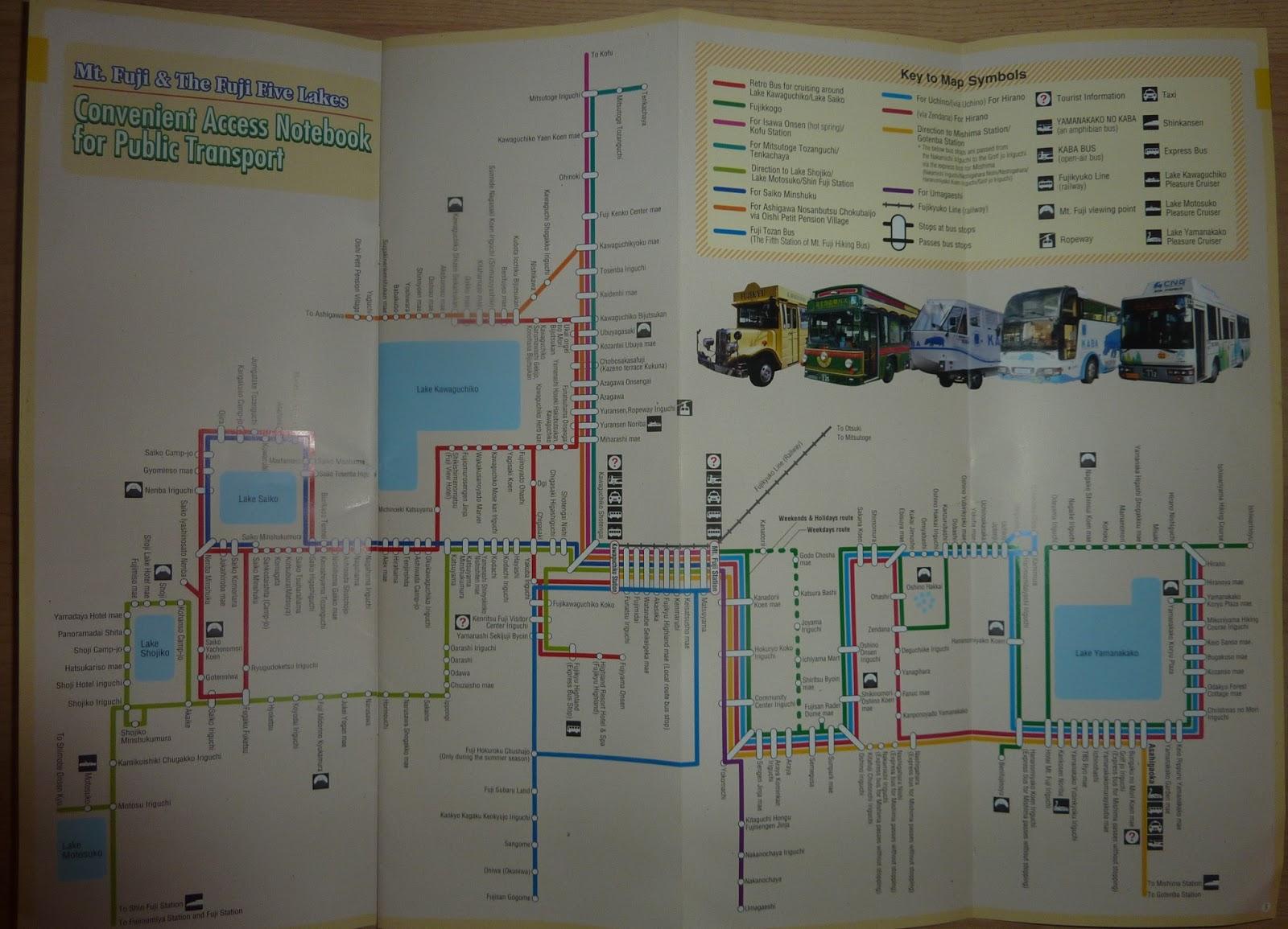 Mushingo Trip To Japan Day 3 Kawaguchiko Yama Wiring Diagram Katchi Ropeway Combo Deal Information Reverse Pamphlet Ticket