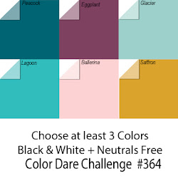 CLICK HERE for Color Dare Challenge #364 Love of Color - CLOSES OCT 24th
