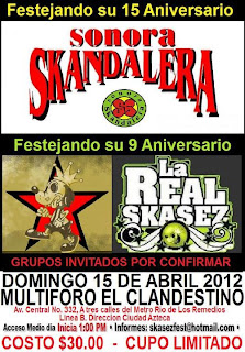 Aniversario Sonora Skandalera y La Real Skases