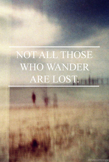 Diario di una Snob - Not all those who wander are lost