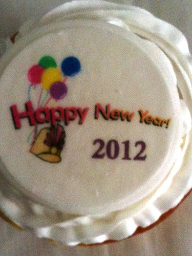Image Happy New Year Cake Download